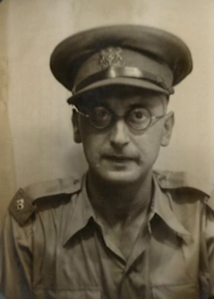 Major James Klugmann - the British Communist who was responsible for passing on intelligence reporting generated in Yugoslavia from Cairo to London. (National Archives, London, Document HS8-1009)