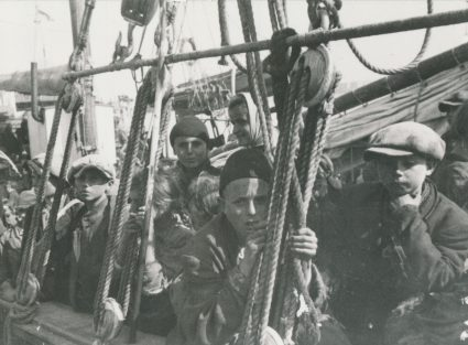 Return from El Shatt, Africa to Yugoslavia, 1945. (Military Museum, Belgrade, Collection of photographs, 23558)