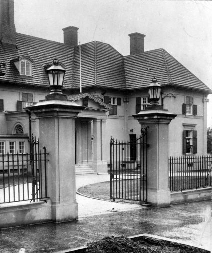 The British Embassy in Belgrade was used as a base for S.O.E. officers prior to the invasion of Yugoslavia. (IWM, London, photographic archive, NA23378)