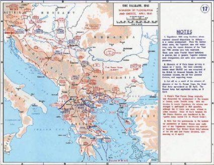Немачке инвазије на Југославију
