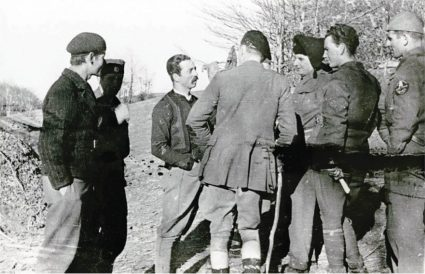 Major Jasper Rootham in Homolje in an Unorthodox Uniform